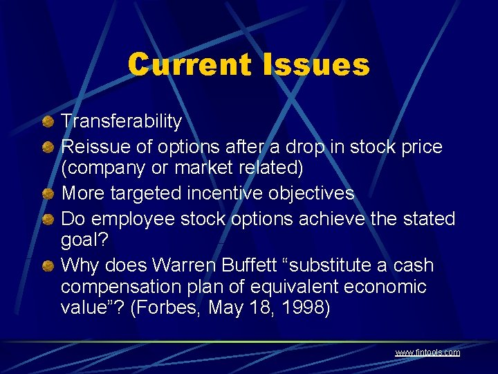 NCEO Stock Options